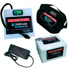POWER BATTERY PRO LITHIUM 12V 26AH