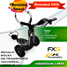POWAKADDY Fx5 Carro de golf eléctrico