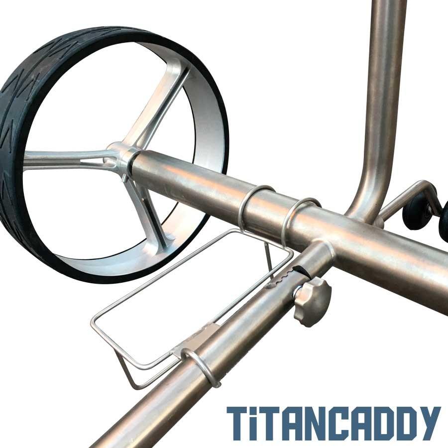 TITANCADDY Carro de golf eléctrico de Titanio