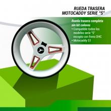 RUEDA TRASERA MOTOCADDY S1