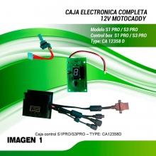MOTOCADDY - S1  S1PRO/ CONJUNTO ELECTRONICO COMPLETO
