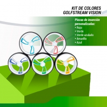 KIT DE COLORES CARRO GOLFSTREAM VISION