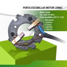 REACONDICIONADO,  PORTA ESCOBILLAS MOTOR LEMAC (45111-114)