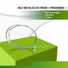 HILO METÁLICO DE FRENO + PRISIONERO