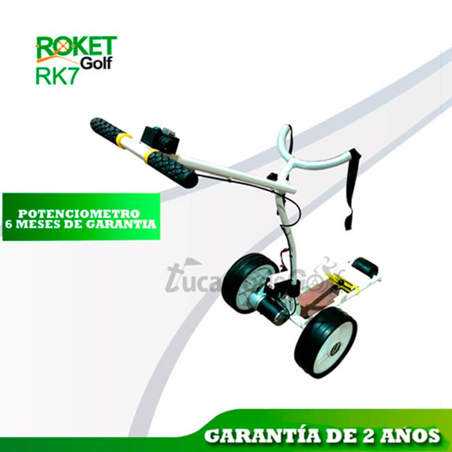 ROKETGOLF RK7 Carro de golf eléctrico