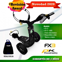 POWAKADDY Fx3 Carro de golf eléctrico