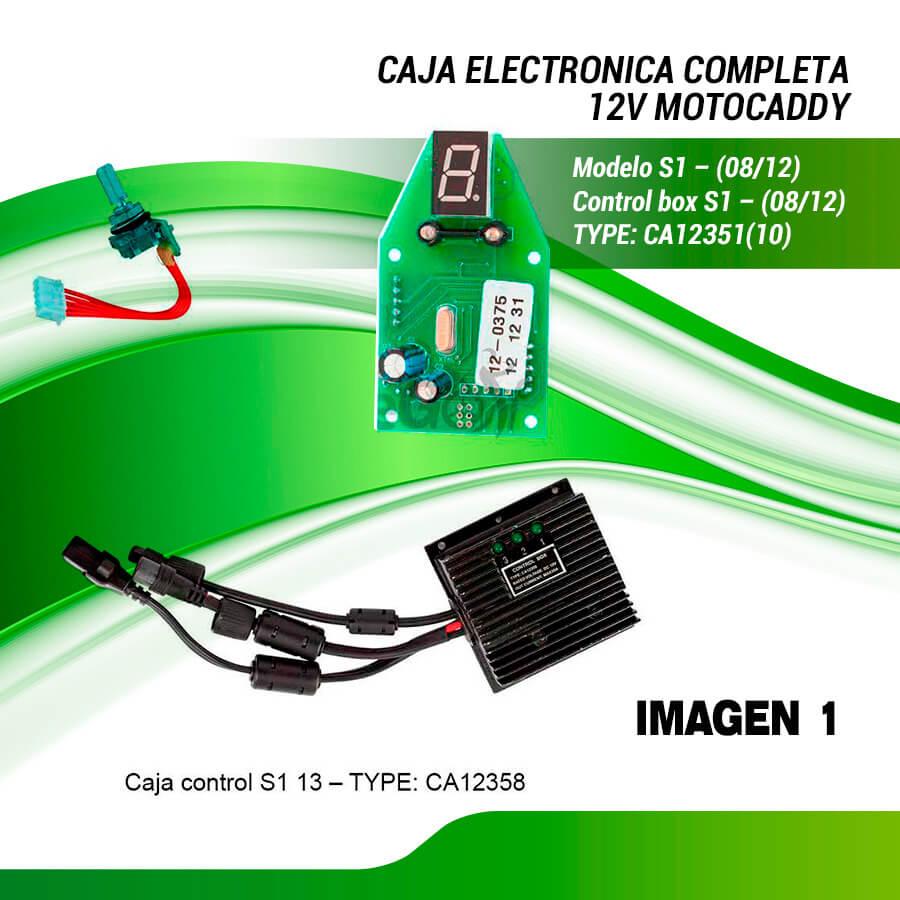 CONJUNTO COMPLETO MOTOCADDY S1 DIGITAL  (08-12)