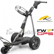 POWAKADDY FW7s GPS Plateado + Embellecedores Aluminio Cepillado+ Bateria Litio
