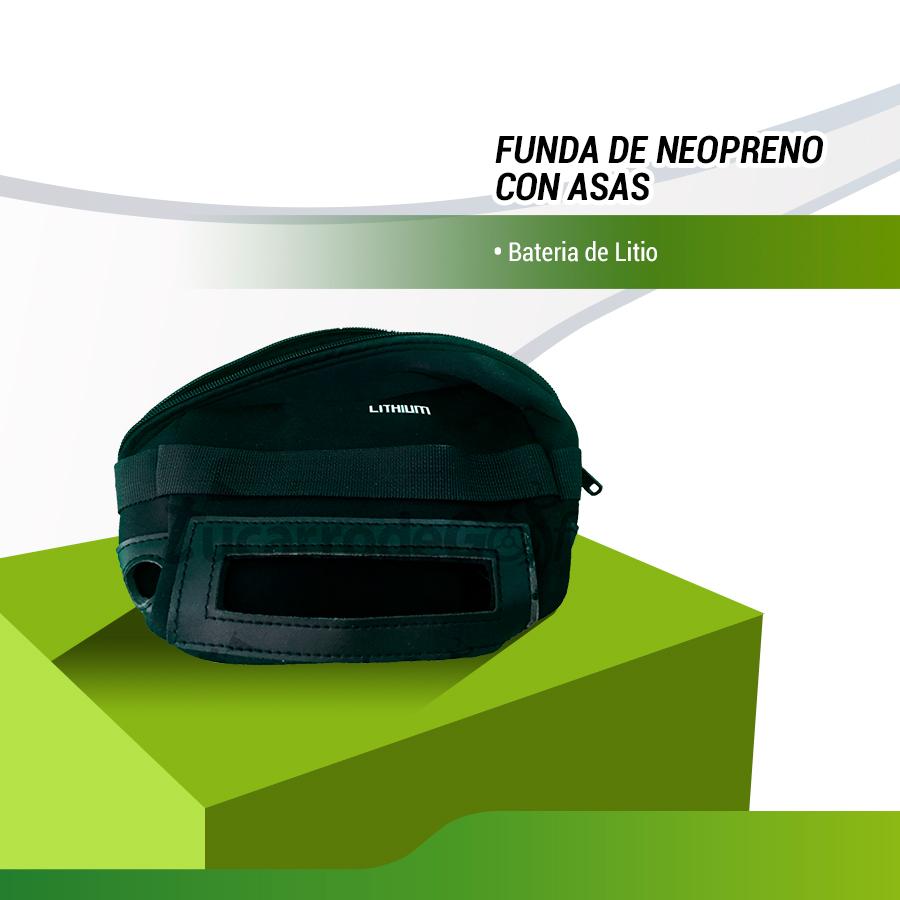 FUNDA NEOPRENO / BOLSA  BATERIA LITIO 16Ah / 18Ah
