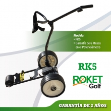 ROKETGOLF RK5 Carro de golf eléctrico