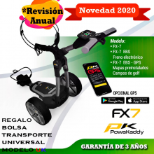 POWAKADDY Fx7 Carro de golf electrico