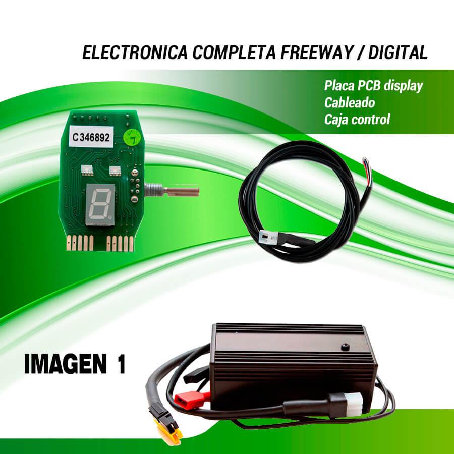 ELECTRONICA POWAKADDY FREEWAY CLASSIC LEGEND CON FUNCION EDF.