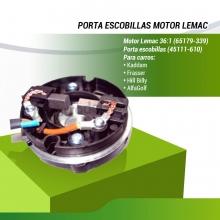 PORTA ESCOBILLAS MOTOR LEMAC (65179-339)