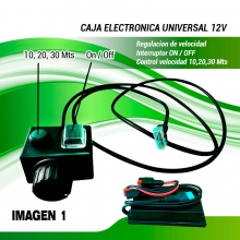 CAJA ELECTRONICA COMPLETA 12 VOLTIOS ( UNIVERSAL)