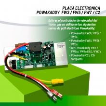 PLACA ELECTRONICA POWAKADDY FW3, FW5, FW7