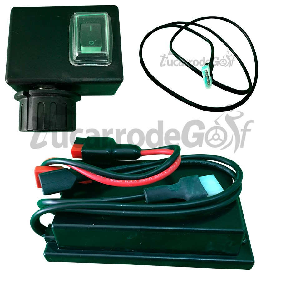 CONJUNTO ELECTRONICO CARRO DE GOLF 12V