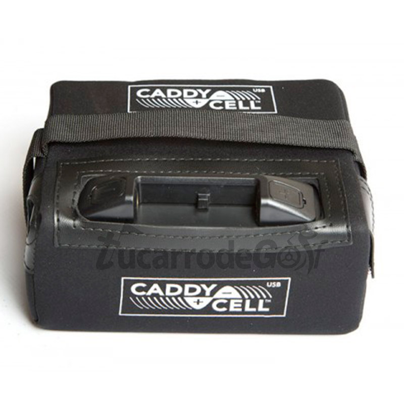 BATERIA LITIO CADDY-CELL+ USB  12V - 16AH CON CARGADOR