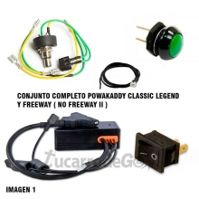 ELECTRONICA POWAKADDY FREEWAY CLASSIC LEGEND CON FUNCION EDF.