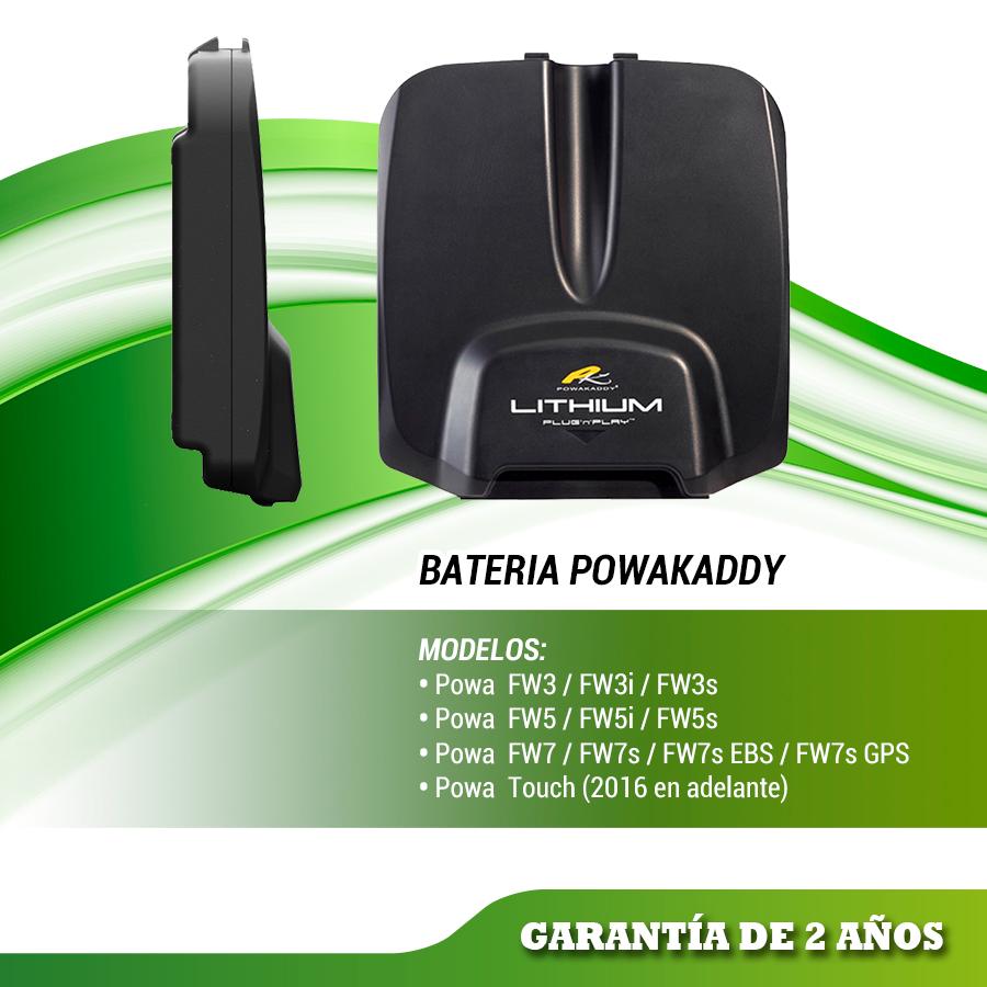 BATERIA DE LITIO POWAKADDY FW  ESTANDAR  PLUG´N´PLAY (18 hoyos) modelos FW