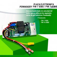 PLACA ELECTRONICA POWAKADDY FW7 EBS, / FW7s EBS
