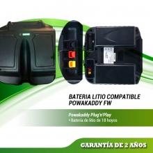 BATERIA COMPATIBLE POWAKADDY FW  DE ALTA CAPACIDAD PLUG´N´PLAY Modelos FW