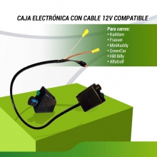 CAJA ELECTRONICA UNIVERSAL 12V CON CABLE
