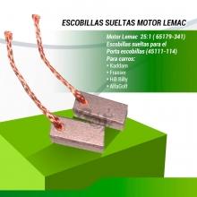 ESCOBILLA MOTOR LEMAC (65179-302) Y (65179-341)  INTERIOR (UD.)