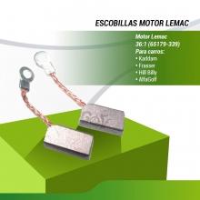 Ud. ESCOBILLAS MOTOR  LEMAC 36/1 INT.