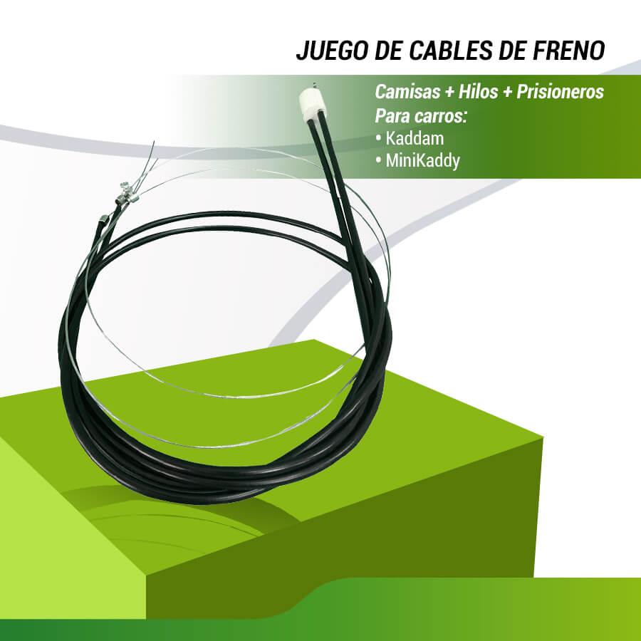 JUEGO CABLES DE FRENO